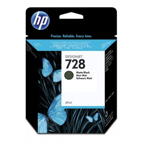 Консуматив HP 728 Standard 1-Pack Original Ink Cartridge; Black ;  ; HP DesignJet T730, T830