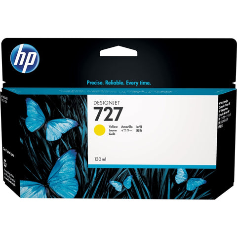 Консуматив HP 727 Standard 1-Pack Original Ink Cartridge; Yellow 300 ml;  ; HP DesignJet T920, T930, T1500, T1530, T2500, T2530