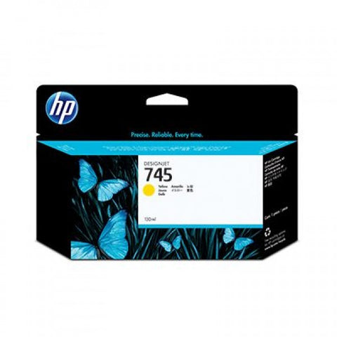 Консуматив HP 745 Standard 1-Pack Original Ink Cartridge; Yellow;  ; HP DesignJet Z2600, Z5600