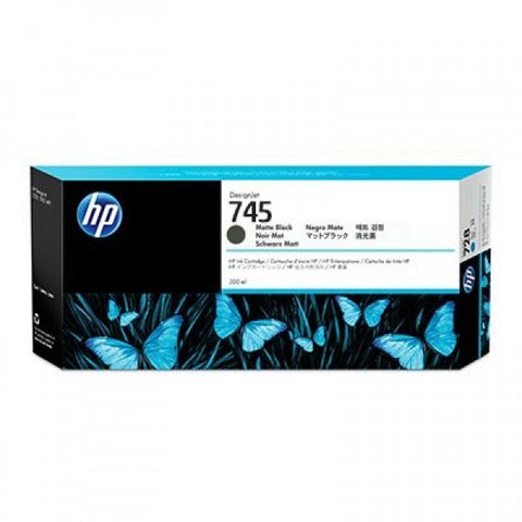 Консуматив HP 745 Standard 1-Pack Original Ink Cartridge; Matte Black;  ; HP DesignJet Z2600, Z5600