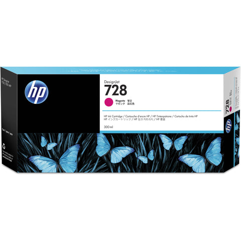 Консуматив HP 728 Standard 1-Pack Original Ink Cartridge; Magenta ;  ; HP DesignJet T730, T830