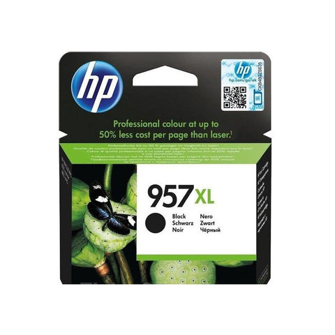 Консуматив HP 957XL Value Original Ink Cartridge; Black;  Page Yield 3000; HP OfficeJet Pro 8210; 8218 ; 8720 ; 8725 ;  8730 ; 8740 ;