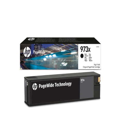 Консуматив HP 973X Value Original Ink Cartridge; Black;  Page Yield 10000; HP PageWide Pro 452; 452; 477