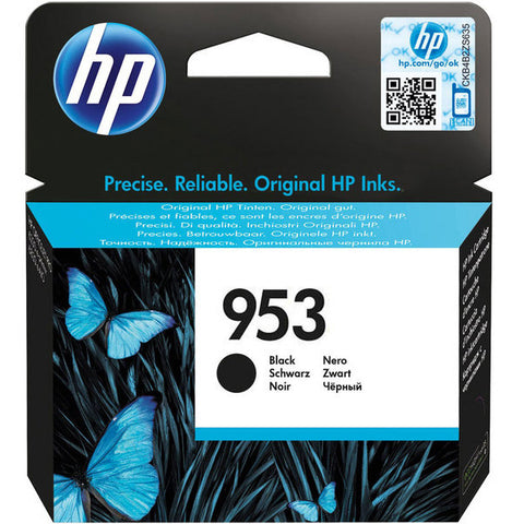 Консуматив HP 953 Standard Original Ink Cartridge; Black;  Page Yield 1000;