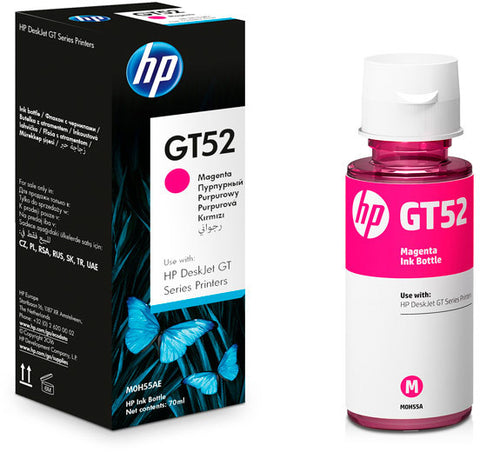 Консуматив HP GT52 Original Ink Cartridge; Magenta;  Page Yield 8000; HP DeskJet GT 5810; 5820