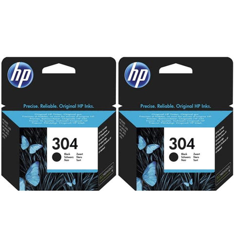 Консуматив HP 304 Standard Original Ink Cartridge; Black;  Page Yield 120; HP DeskJet 3720 All-in-One Printer; 3720;