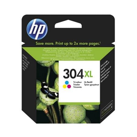 Консуматив HP 304XL Standard Original Ink Cartridge; Tri-Color;  Page Yield 300; HP DeskJet 3720 All-in-One Printer; 3720;