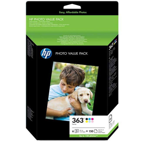 Консуматив HP 363 Series Photo Value Pack-150 sht/10 x 15 cm