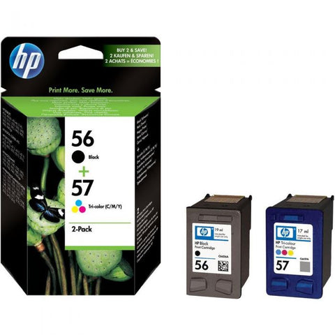 Консуматив HP 56/57 Combo 2Pack Original Ink Cartridge; ;  Page Yield 520/500;