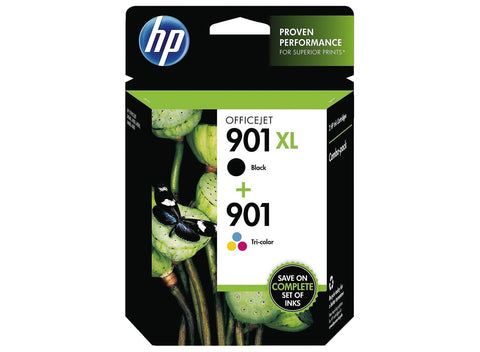 Консуматив HP 901XL 2- Pack Original Ink Cartridge; Black: Tri Color ;  ; HP Officejet 4500; HP Officejet J4580