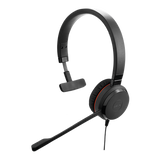 Слушалки с микрофон Jabra EVOLVE 30 II MS Mono, Noise Cancelling, Microphone, 3,5 mm & USB