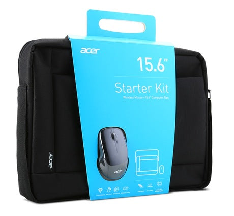 ACER Notebook Starter Kit 15,6'' (Belly band packaging) Carry Bag & Wireless Mouse