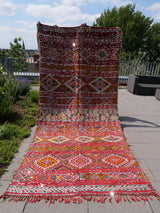Modern designer handcrafted Berber rug  from morocco Vintage Kelim with beautiful colors and patterns
