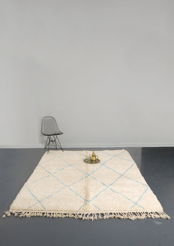 Modern designer handcrafted Berber rug  from morocco with beautiful colours and patterns