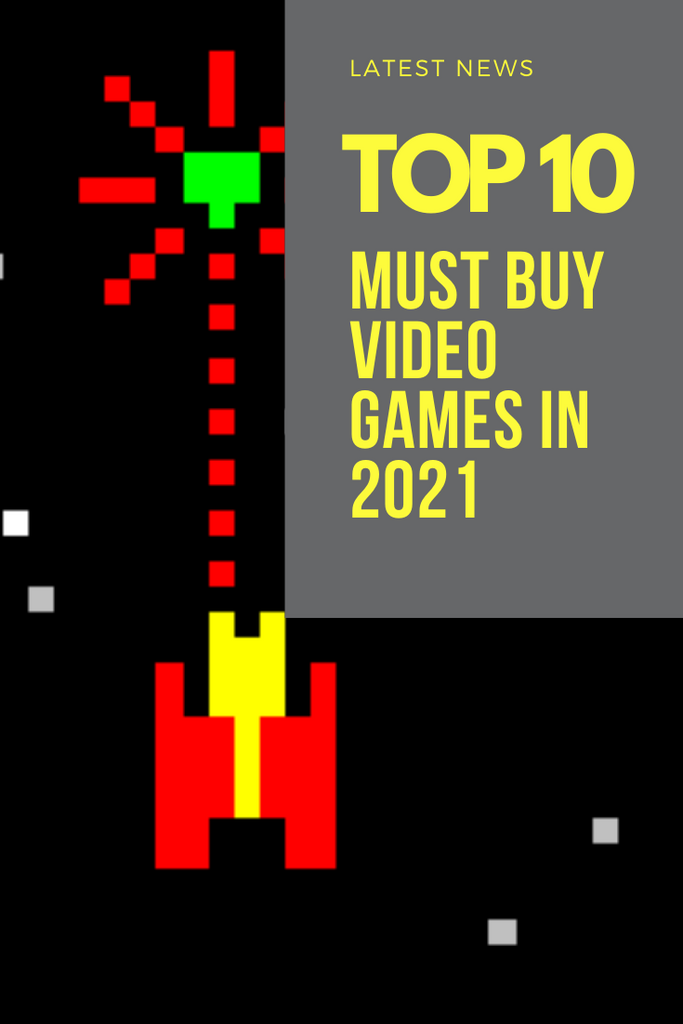 THE TOP 10 VIDEO GAMES OF 2021
