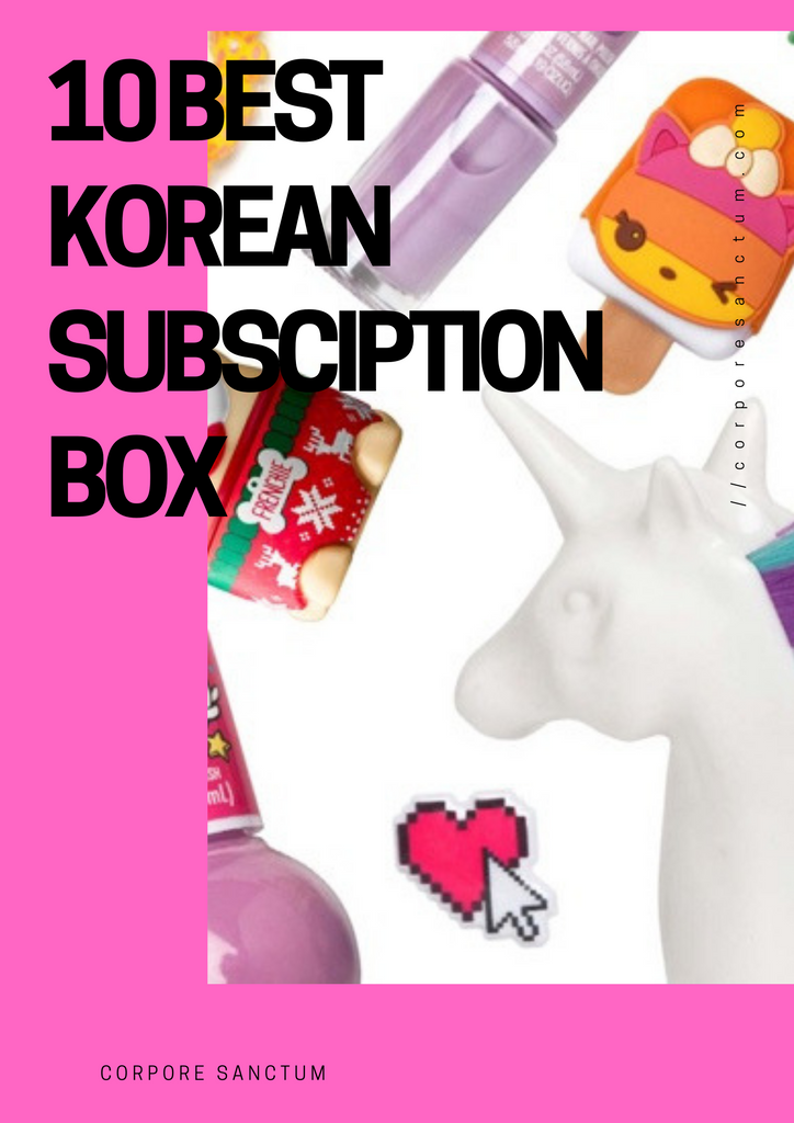 The 10 Best Korean Subscription