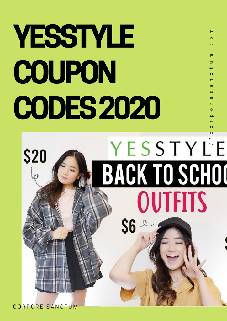 The Best Yesstyle coupon codes 2020