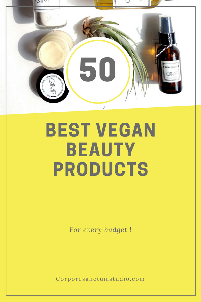 50 Best Vegan Skincare Brands