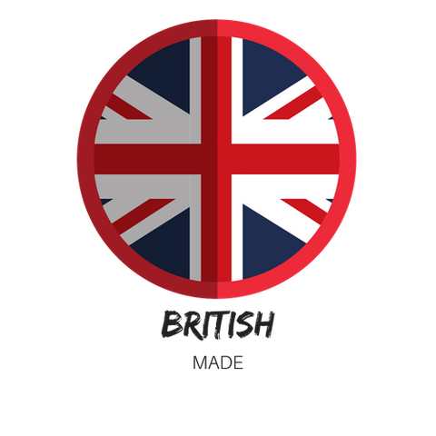 made in britain flag logo skincare corpore sanctum