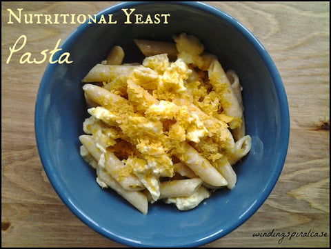 Pasta vegan wheat free yeast