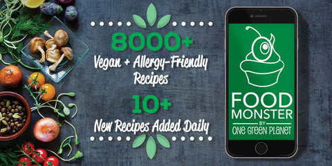 Food monster app recipe vegan