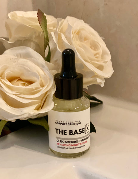 The BaseX : Renewing Night Potent Vitamin E Oil (30ml) - Corpore Sanctum