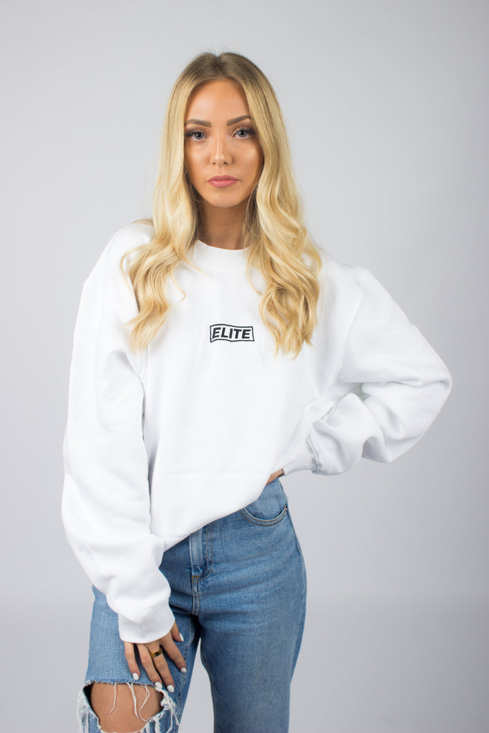 Elite Sweater - White