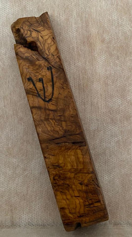 Ancient Olive Wood Mezuzah