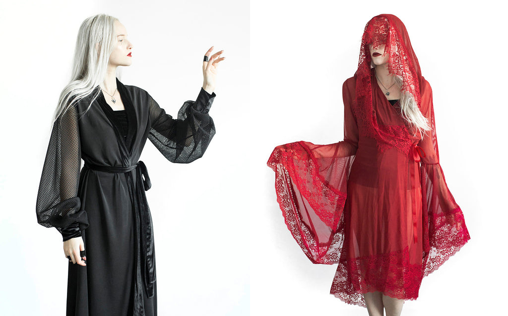 Church of Sanctus Inertia Robe and Heartbreak Red Robe