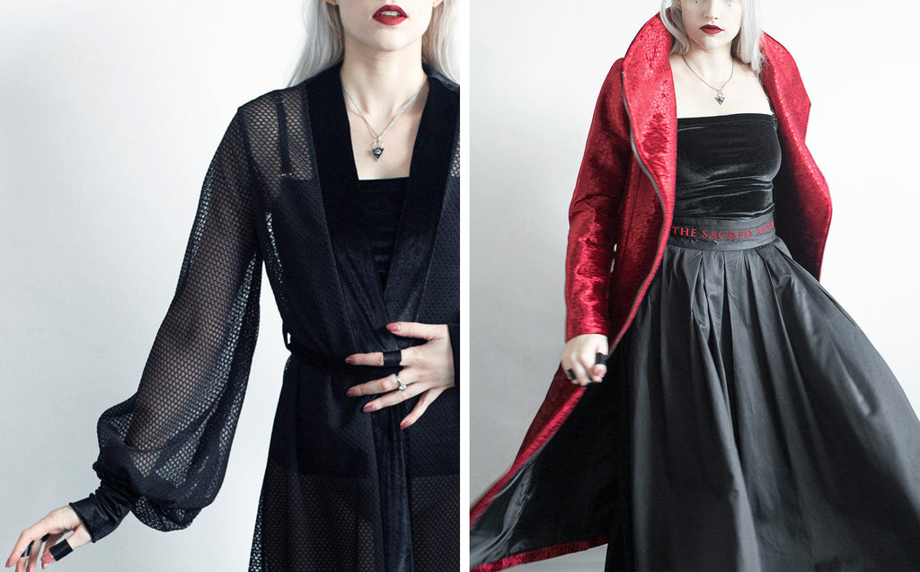Church of Sanctus Inertia Robe and Medusa Coat