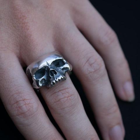 Departed Large Skull Ring
