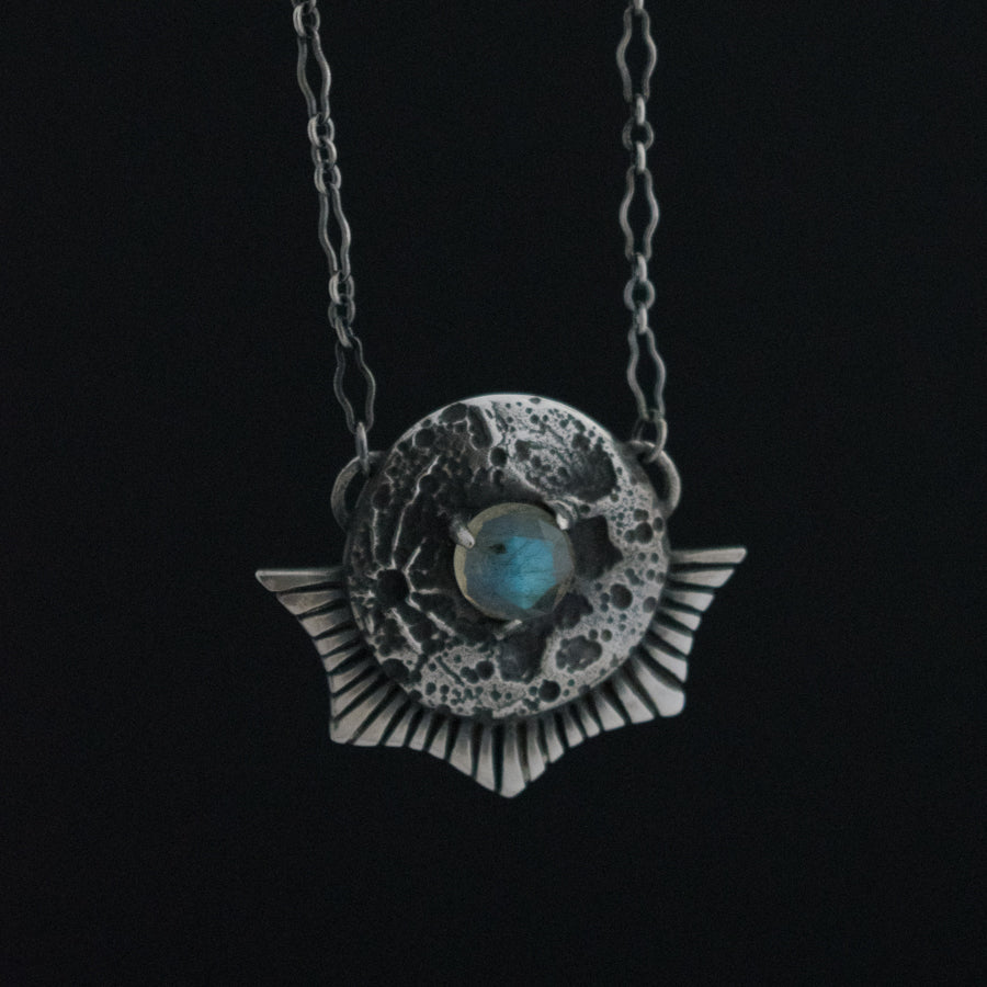 Luna Landing Necklace Labradorite