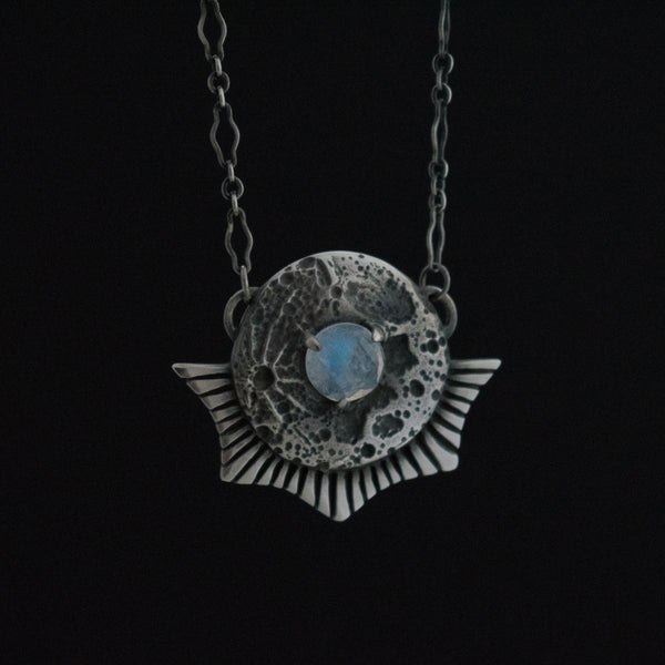 Luna Landing Necklace Moonstone