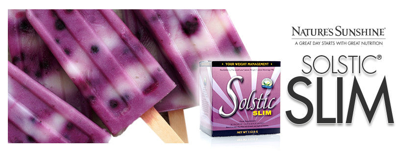 Ice lollies for solstic slim