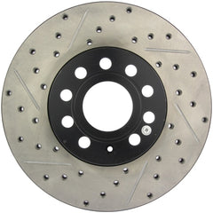StopTech 126.47015SR Sport Slotted Brake Rotor; Rear Right