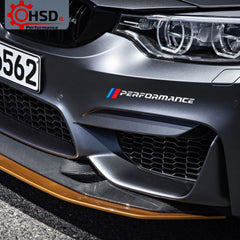 Duoles New Car Sports Styling Racing Decoration Performance Door Handle Stickers Front Decal Styling For BMW M3 M5 X1 X3 X5 X6 E36 E39 E46 E30 E60 E92 Black Door Handle
