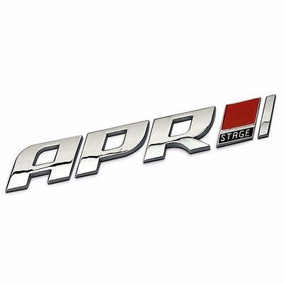 Apr decal car styling sticker stage 1 2 3 abs racing badge for real tuners goapr