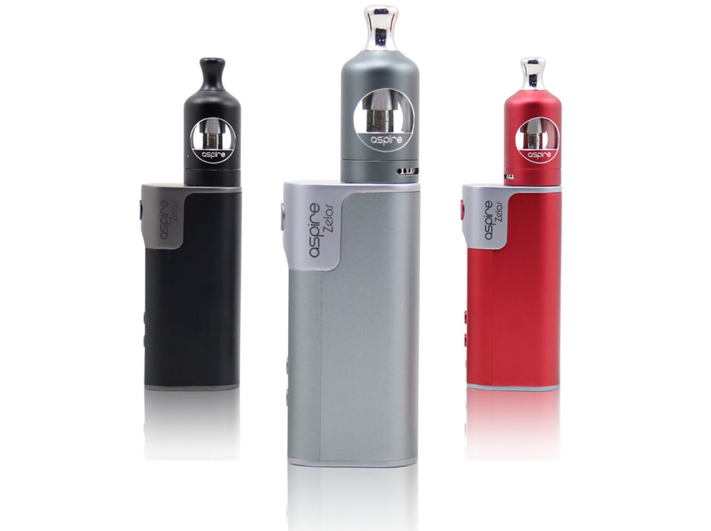 Aspire Zelos 50W Kit: 3 Colours