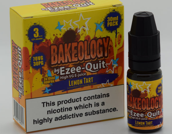 Bakeology by Ezee Quit LEMON TART High VG