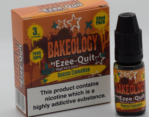Bakeology by Ezee Quit DANISH CINNAMAN High VG