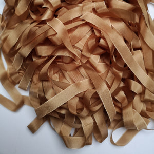 CARAMEL SILK RIBBON