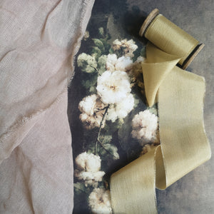 HONEY GOLD LUXE SILK RIBBON