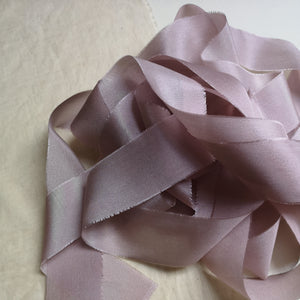 MAUVE LUXE SILK RIBBON