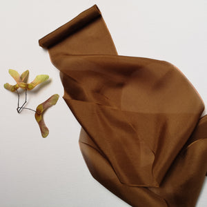 GOLDEN TOFFEE LUXE SILK RIBBON