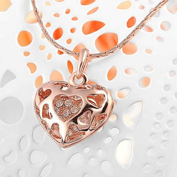 Love heart pendant necklace austrian crystals huggy mushy love heart pendant necklace austrian crystals mozeypictures Images