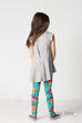 Del Sol Tunic in Heather Grey