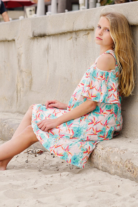 Cecily Dress in Isla Bonita