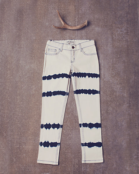 Peppar Prep School Skinnies in Dazed Navy