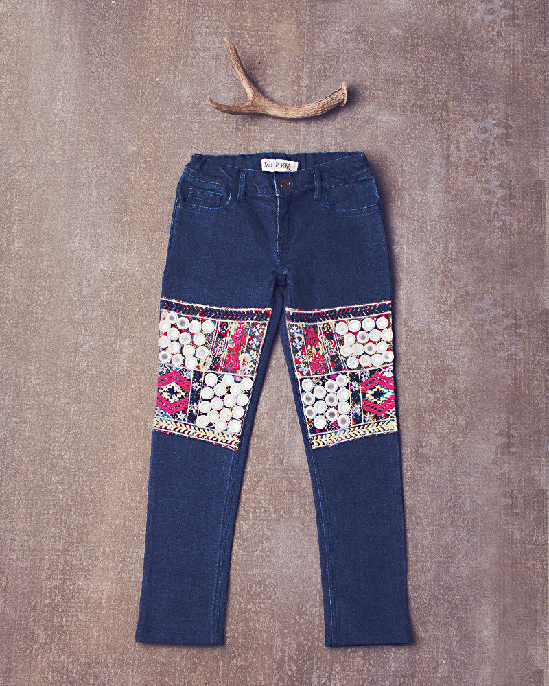 Disco Gypsy Skinnies in Medium Wash
