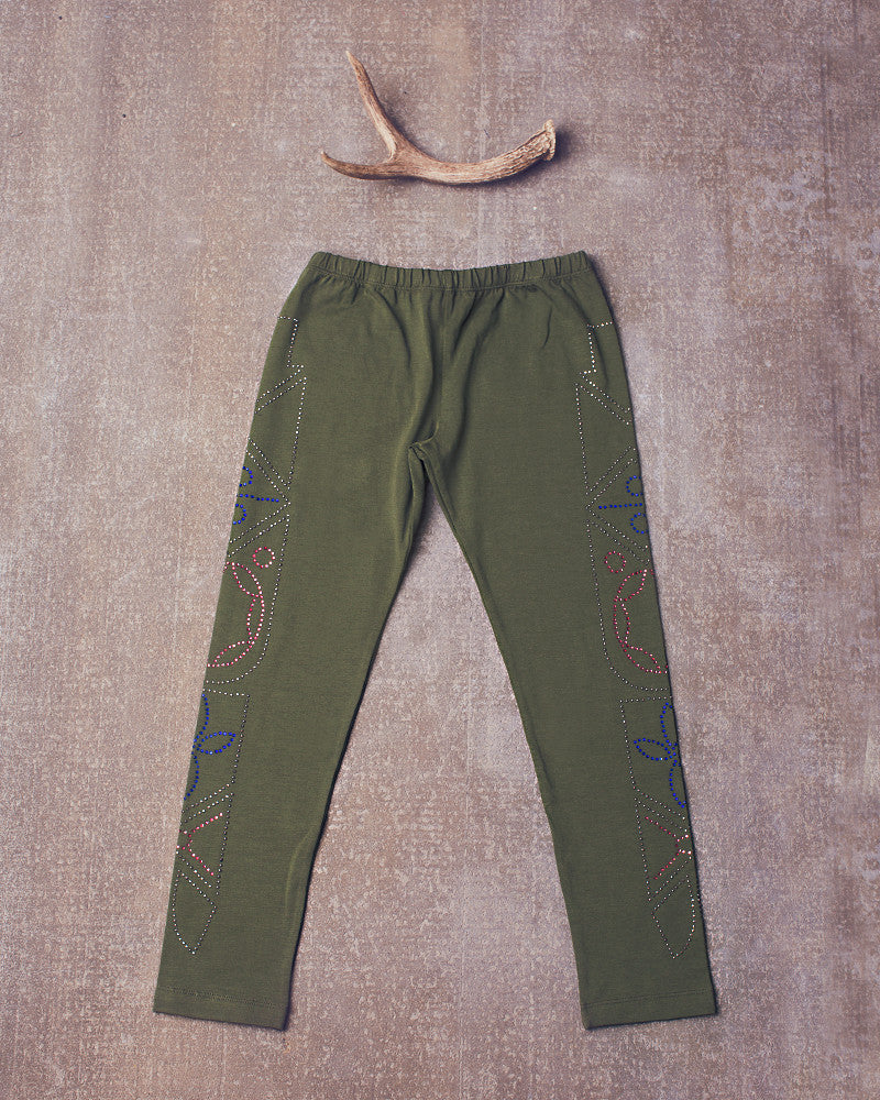Jazzy Legging in Olive